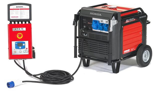 Generatore honda con avviamento automatico gruppo for Generatore di corrente con avviamento automatico