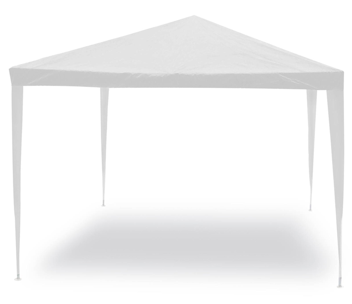 Gazebo in acciaio NETTUNO 3x3 mt con telo in PE bianco