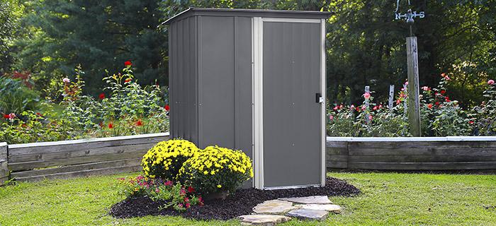 Box in metallo da giardino BRENTWOOD
