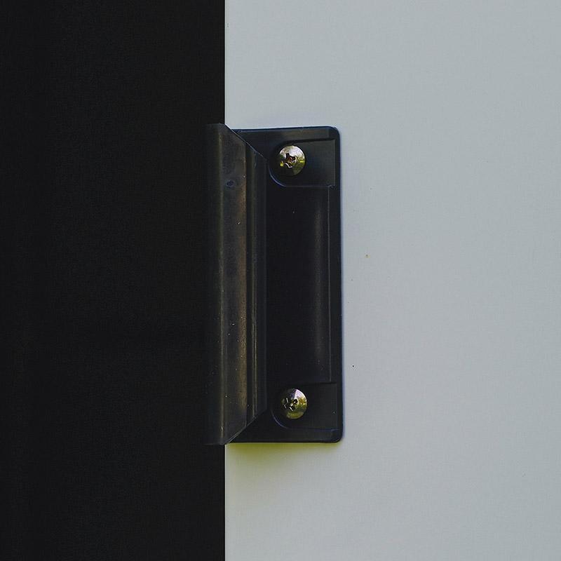 Box in metallo da esterno SELMONT maniglia porta