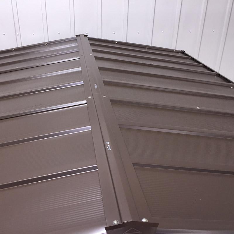 Box in metallo da esterno SELMONT tetto
