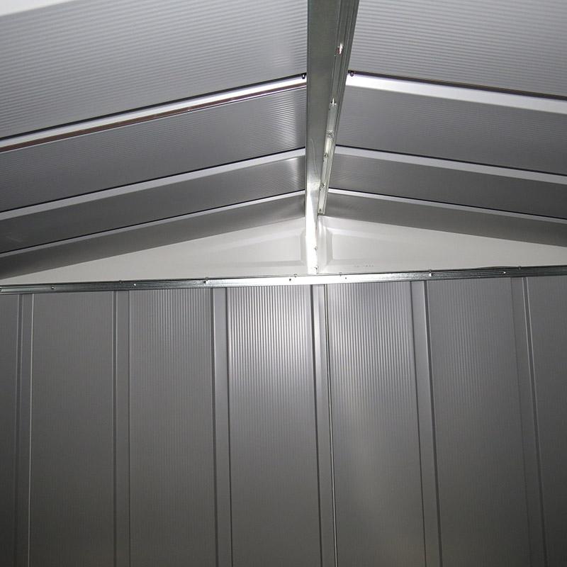 Box in metallo da esterno SELMONT interno tetto