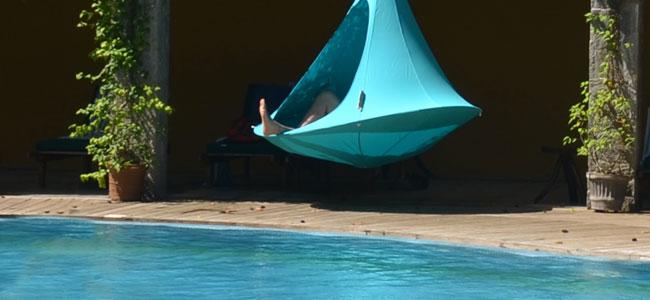 Tenda sospesa CACOON DOUBLE Ø 1,8 mt