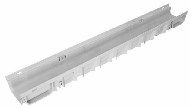 Canaletta di scolo PEGASUS PLUS con sistema a clip 13 x 7,5 cm