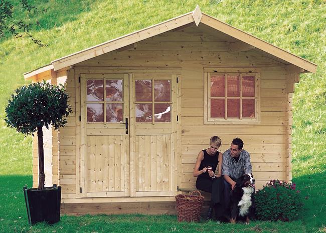 Casetta in legno da giardino ROSITA
