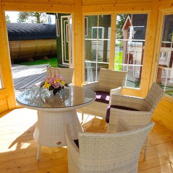 casetta da giardino in legno febe