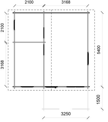 Dimensioni casetta Madrid