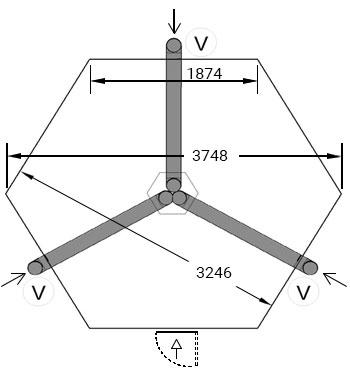 fondamenta casetta minerva
