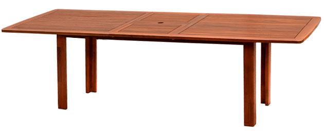 Tavolo in legno keruing CITRUS allungabile