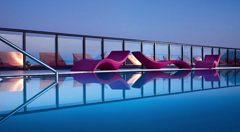 Lettino prendisole piscina CLOE by Myyour