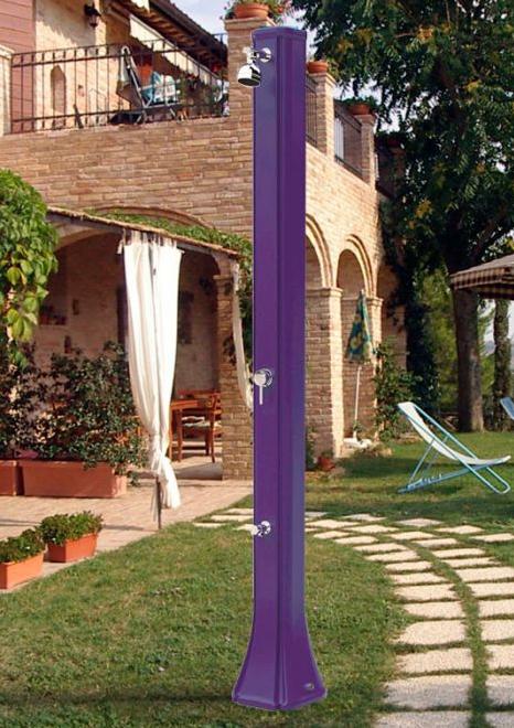 Docce solari da giardino in pvc arredo - Docce da giardino in muratura ...