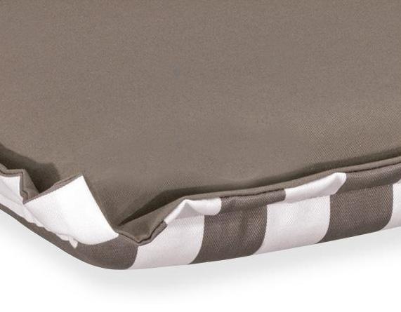Cuscini per lettino 196x58 cm con volant, vari colori
