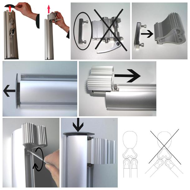 Palo e accessori per fissaggio Ombrellone PARAFLEX duoflex