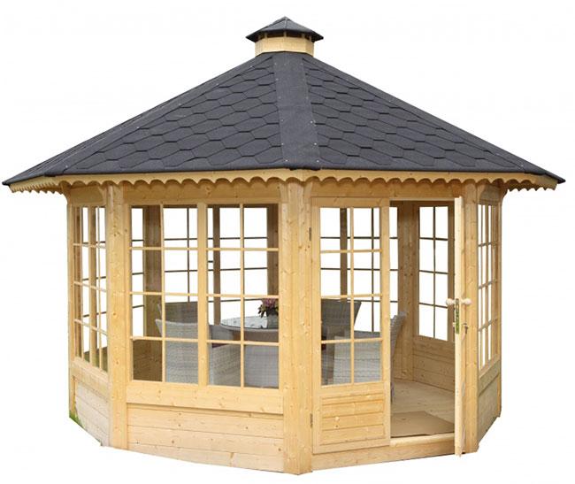Casetta in legno FEBE da giardino