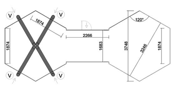 fondamenta casetta cibele