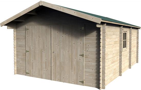 Casetta garage in legno fortes