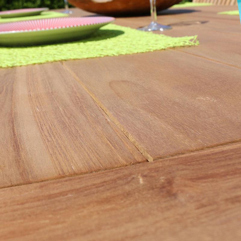 Tavolo GIORGIA by Regarden in legno di teak
