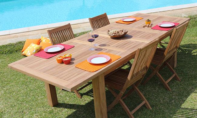 Set pranzo GIORGIA - NAOMI by Regarden