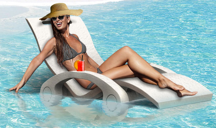 Lettino piscina SERENDIPITY GALLEGGIANTE