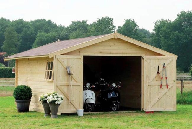 Garage Box auto in legno