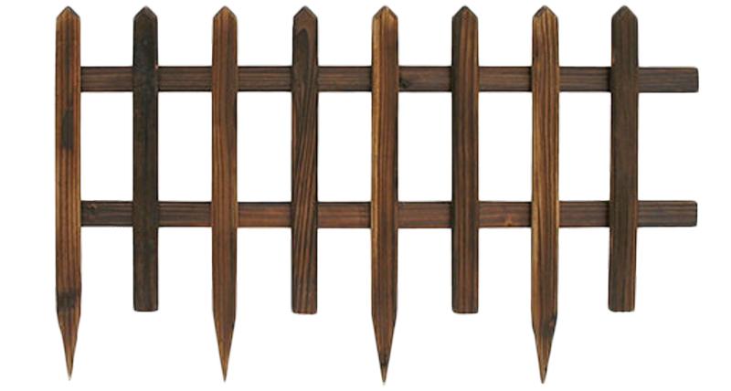 Steccato in legno 84 x 50 cm arredo - Staccionata in legno per giardino ...