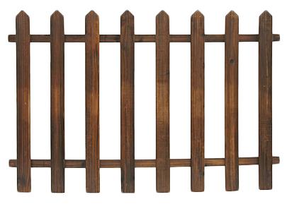 Steccato in legno da giardino 120 x H82 cm