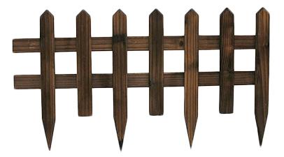 Steccato Per Giardino In Pvc : Steccato in legno 84 x 50 cm arredo giardino.com