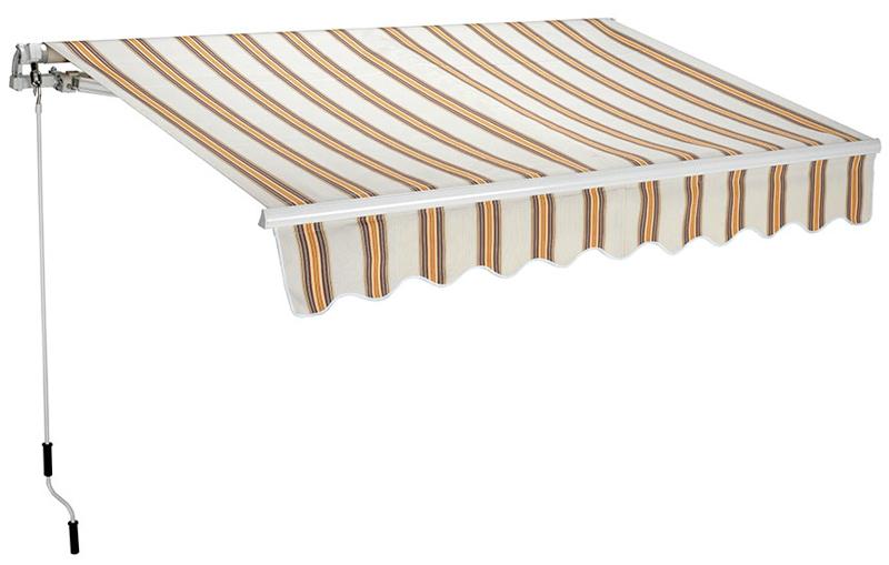 Tenda da sole a barra quadra 200x250 cm - diversi colori