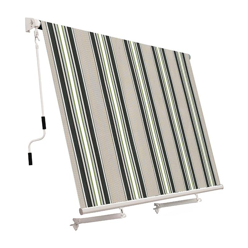 Tenda da sole a caduta con bracci 245x245 cm vari colori for Tende da sole a caduta leroy merlin