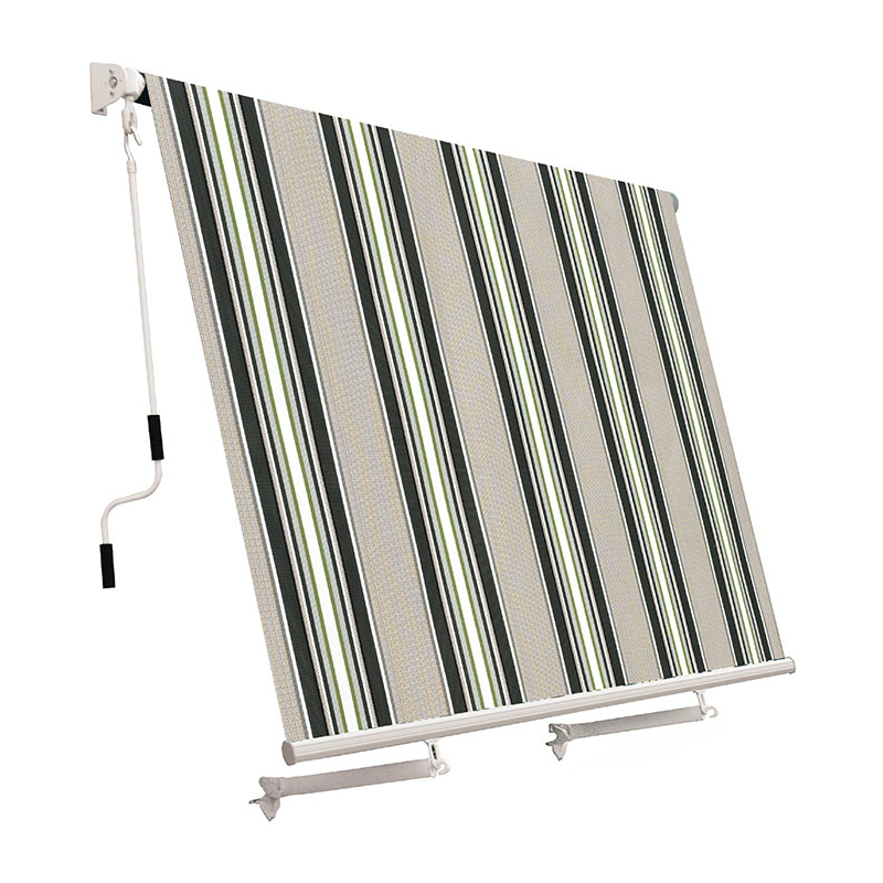 Tenda da sole a caduta con bracci 245x245 cm - diversi colori