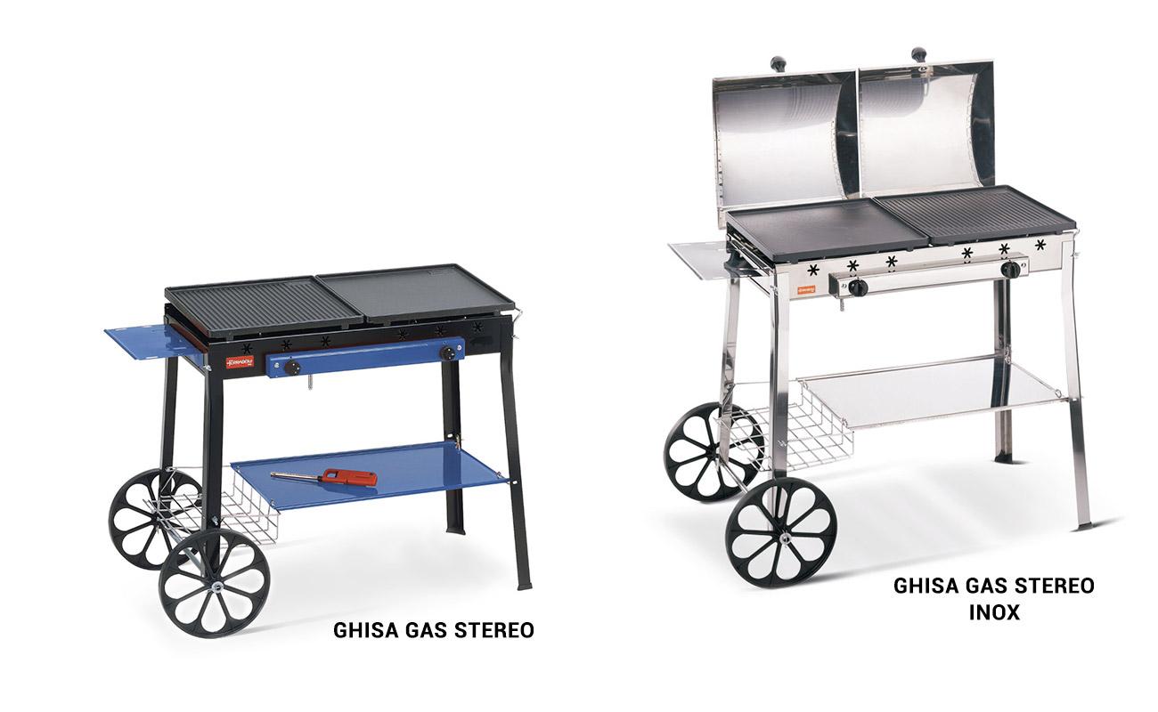 Barbecue Ferraboli in ghisa Stereo