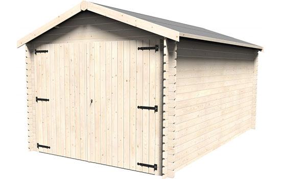 Casetta garage in legno giamaica