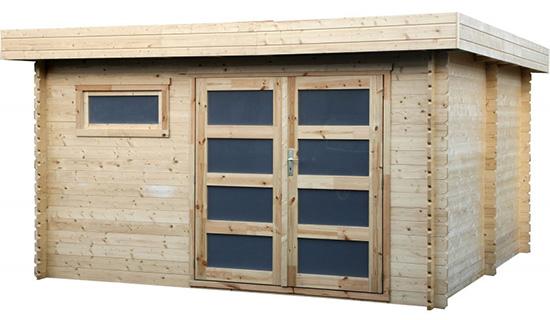 Casetta in legno truciolato