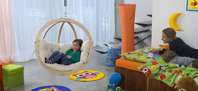 Poltrona sospesa per bambini Kid's Globo by Amazonas