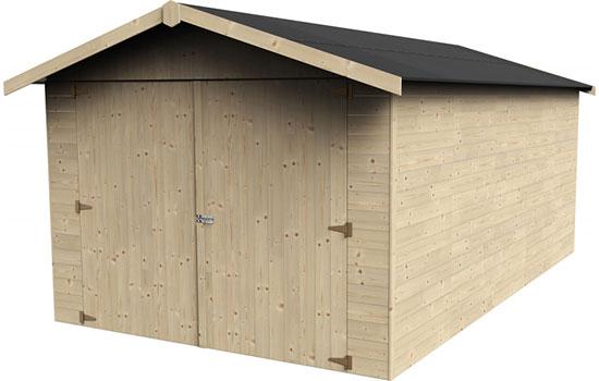 Casetta garage in legno truciolato gros