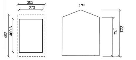 dimensioni garage in legno gros