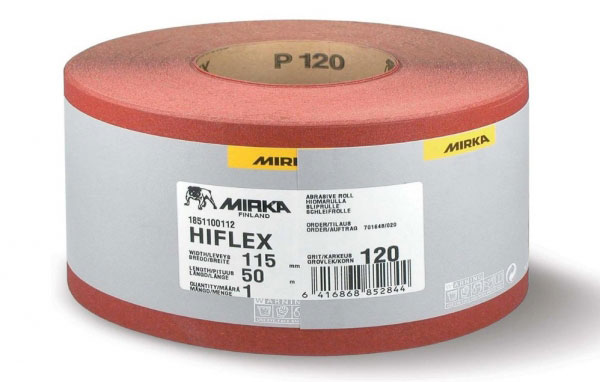 Carta abrasiva Hiflex grana 120
