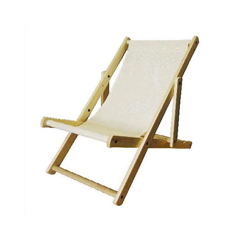 Poltrona con schienale ergonomico reclinabile e struttura in legno