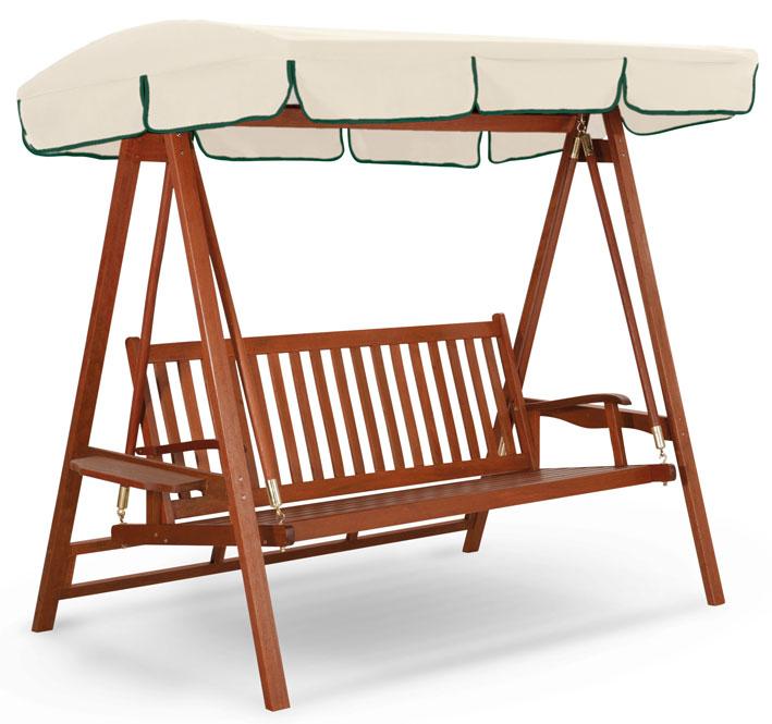 Dondolo in legno 2 e 3 posti LARICE by Regarden