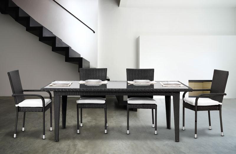 Sedia AUSTIN e tavolo ROYAL by Regarden