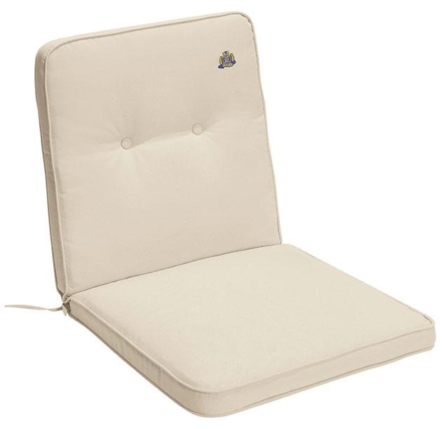 Cuscino per poltrona bassa 92x46 cm con bordino
