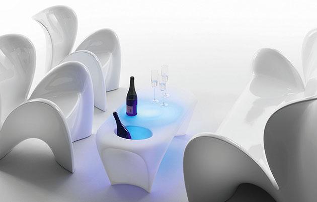 Tavolino LILY con illuminazione by Myyour