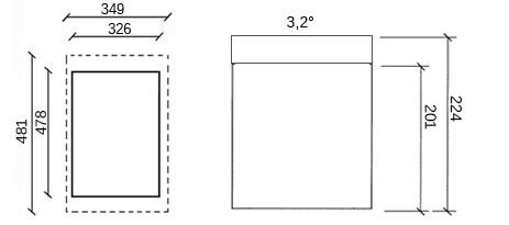 dimensioni garage in legno gardan