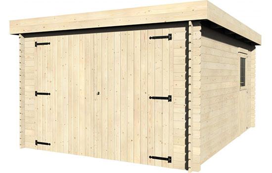 Casetta garage in legno gardan