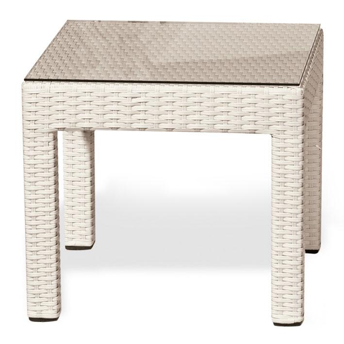 Tavolino da esterno MIAMI 50x50 cm in wicker