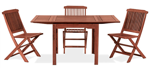 Sedia MAGNOLIA e tavolo PALMA by Regarden