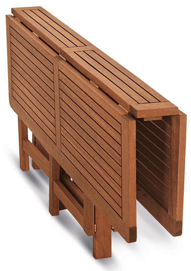 Tavoli In Legno Da Esterno Allungabili.Tavolo Da Giardino In Legno Di Keruing Papavero Allungabile E