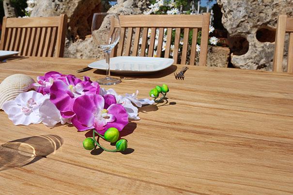 Set pranzo in legno di teak by Regarden