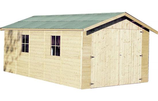 Casetta garage in legno poline