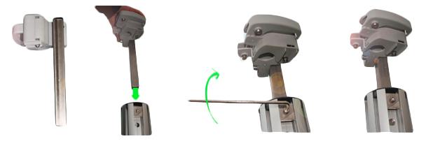 Palo e accessori per fissaggio Ombrellone PARAFLEX punta
